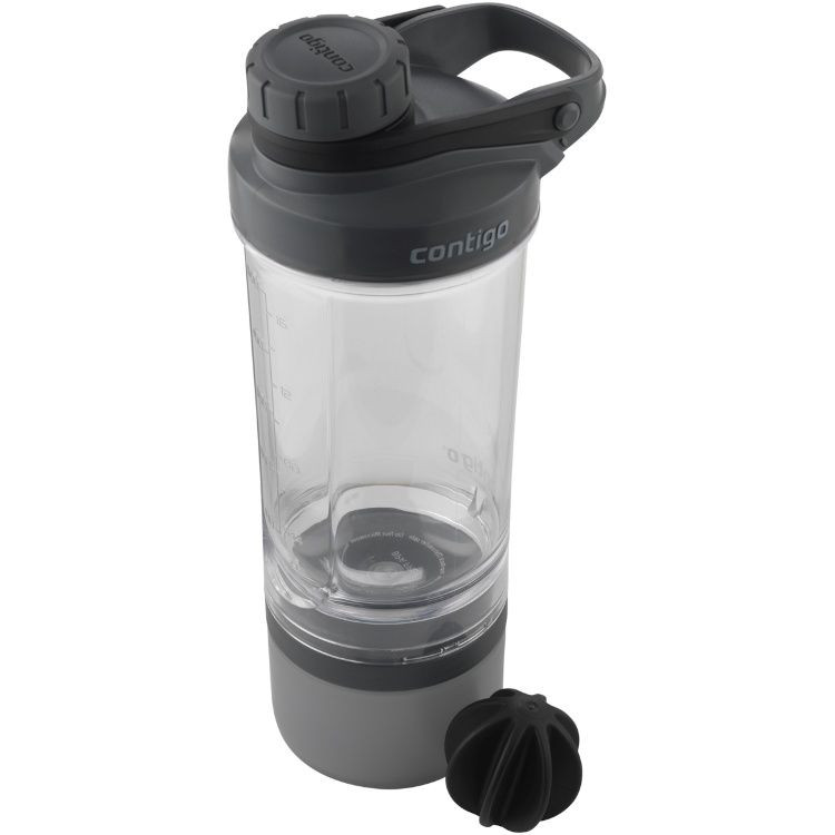 Фитнес-бутылка Contigo Shake & Go Fit Compartment 650ml