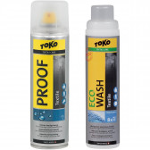 Набор Toko Duo-Pack Proof Textile + Eco Wash Textile 250 ml